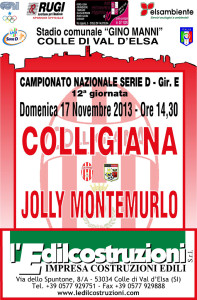2013 11 17 Colligiana Jolly Montemurlo