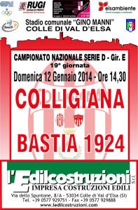 2014 01 12 Colligiana Bastia