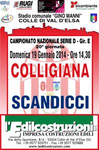 2014 01 22 Colligiana Scandicci