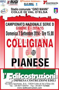 2014 09 07 Colligiana Pianese