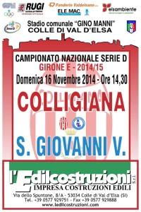 2014 11 16 Colligiana Sangiovannivaldarno