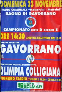 2014 11 23 Gavorrano Colligiana