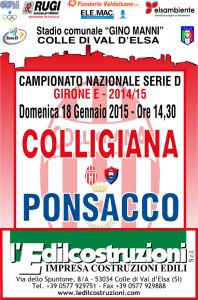 2015 01 18 Colligiana Ponsacco