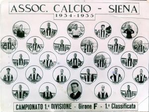 Gino Manni Siena 1934 35