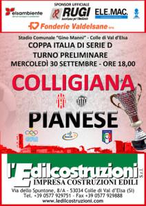 2015 09 30 Colligiana Pianese Coppa Italia