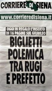 2015 12 10 Corriere di Siena